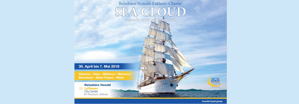Sea Cloud 2018 | Reisebüro Honold